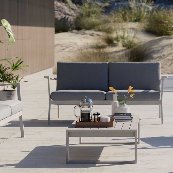 EOS OUTDOOR 2-SEATER SOFA by CASE FURNITURE