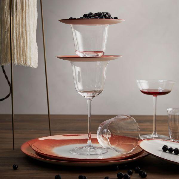 Ann Demeulemeester GRACE GLASS 7.5 / 6.5 TRANSPARENT BOX OF 4