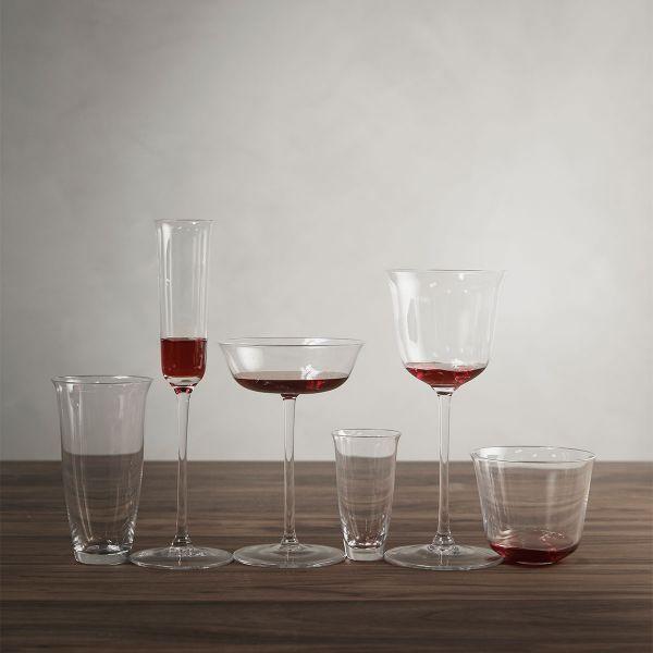 Ann Demeulemeester FRANCES GLASS TRANSPARENT - BOX OF 4