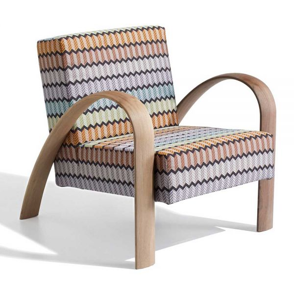 GRANDMA Lounge Chair By MISSONI HOME