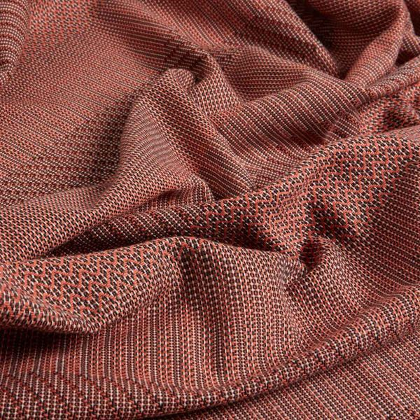 UNA India cotton THROW by WALLACE and SEWELL