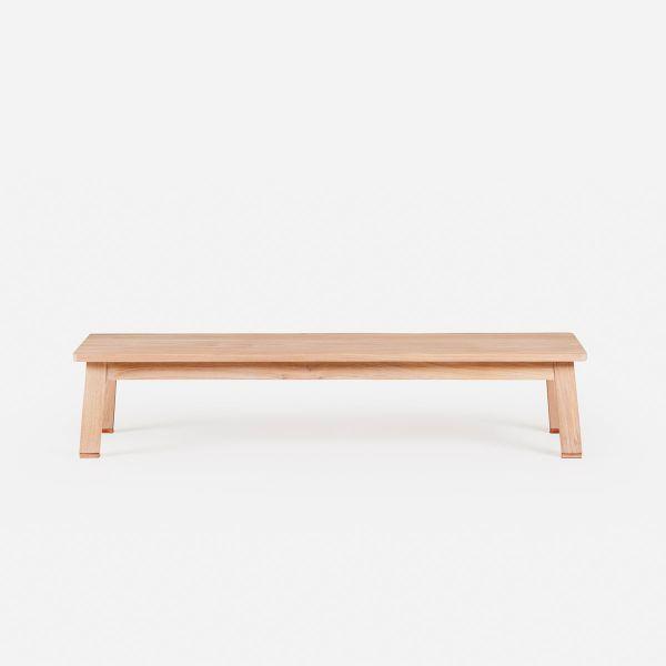Low Bench Designed by Studioilse for De La Espada.