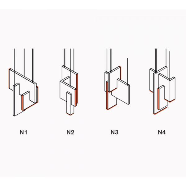 TRON Pendant Light designed by Éric de Dormaël