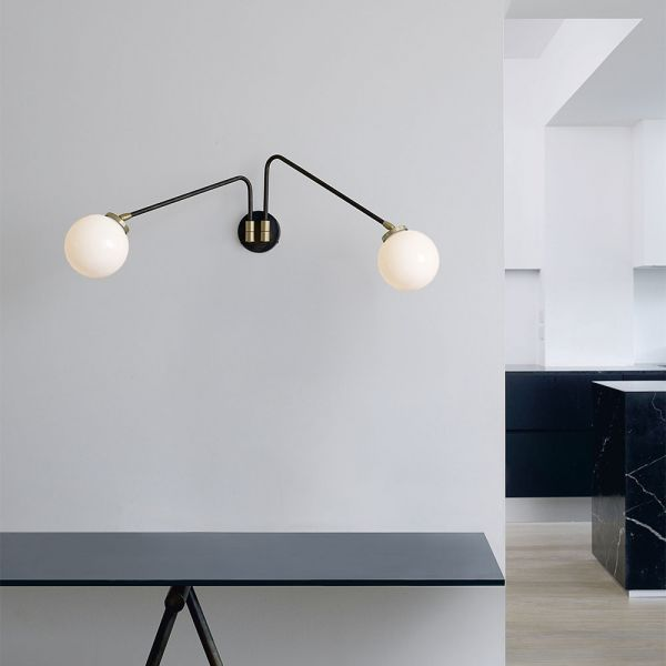ARRAY TWIN WALL LIGHT by CTO LIGHTING