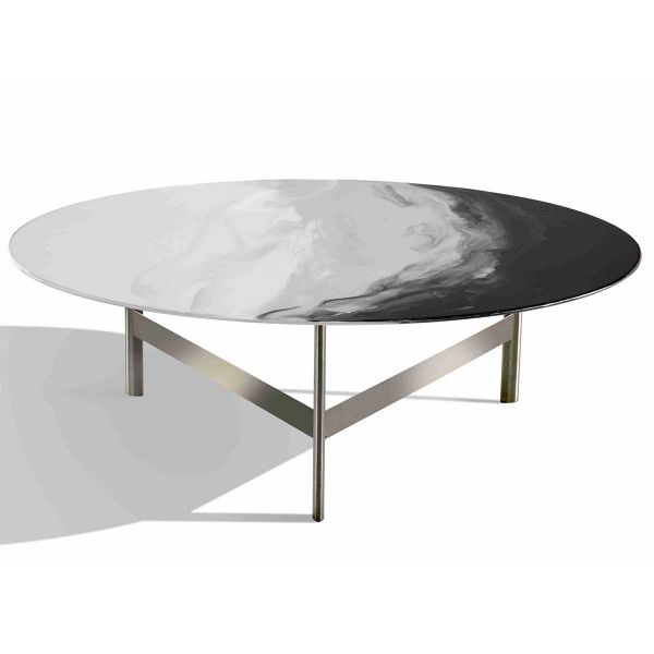ART GLASS COFFEE TABLE, LARGE BY MISSONI HOME