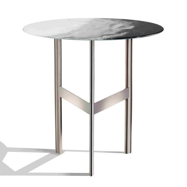 ART GLASS SIDE TABLE BY MISSONI HOME