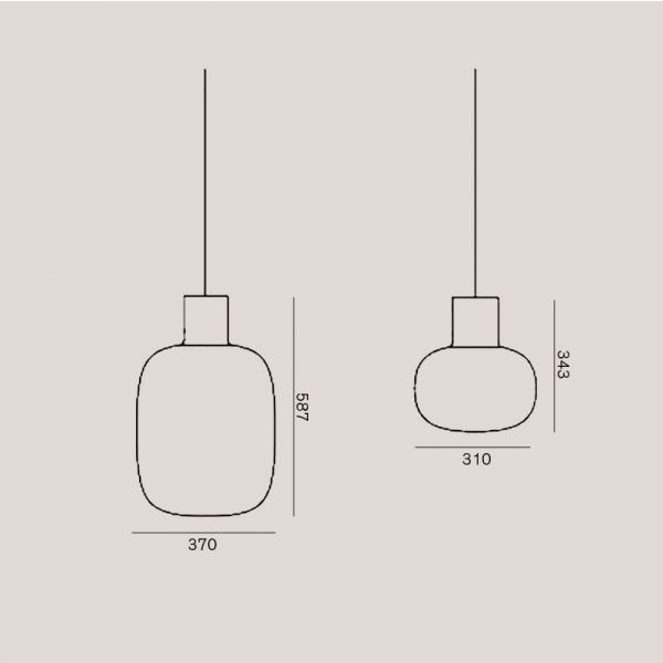 AWA PENDANT LIGHT by BROKIS