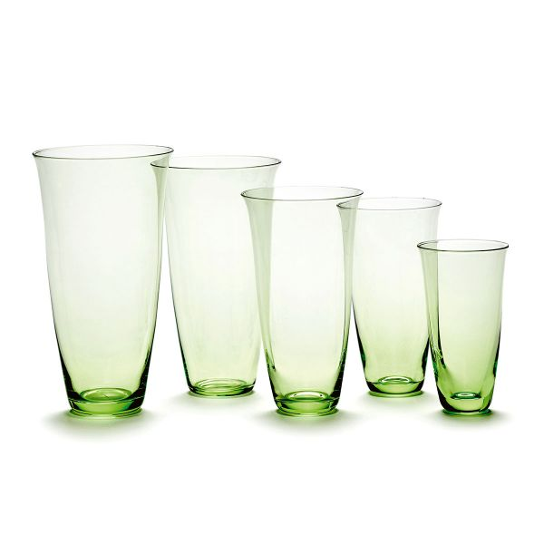 Ann Demeulemeester FRANCES GLASS TRANSPARENT - BOX OF 4