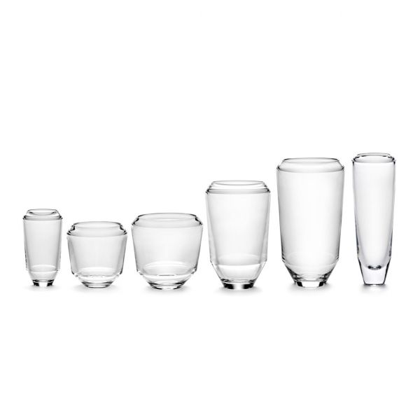 LEE GLASS 4.2 / 8 TRANSPARENT BOX OF 4 By Ann Demeulemeester