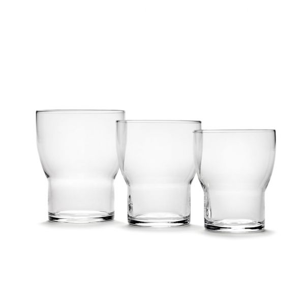 Ann Demeulemeester EDIE GLASS 7 TRANSPARENT BOX OF 4