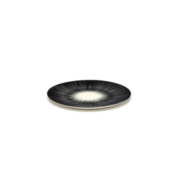 ANN DEMEULEMEESTER - PLATE DÉ - OFF-WHITE/BLACK VAR 5