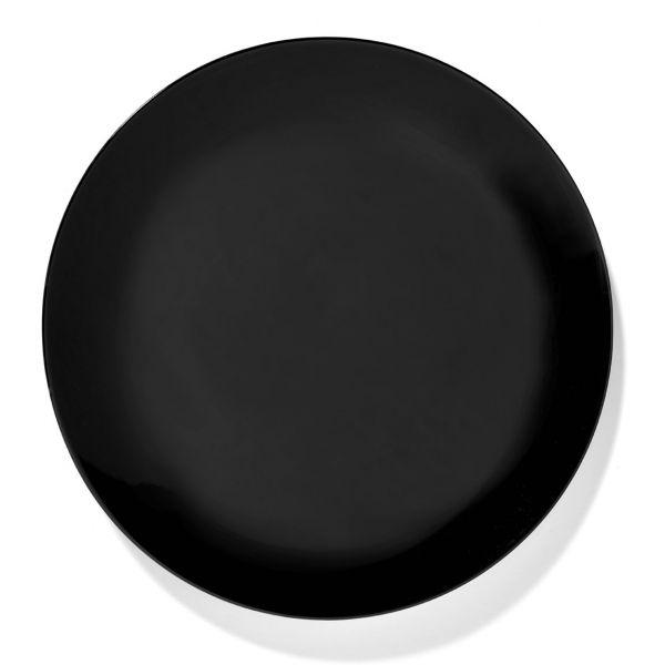 ANN DEMEULEMEESTER - PLATE DÉ OFF-WHITE/BLACK VAR 4