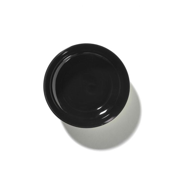 ANN DEMEULEMEESTER - HIGH PLATE DÉ OFF-WHITE/BLACK VAR B