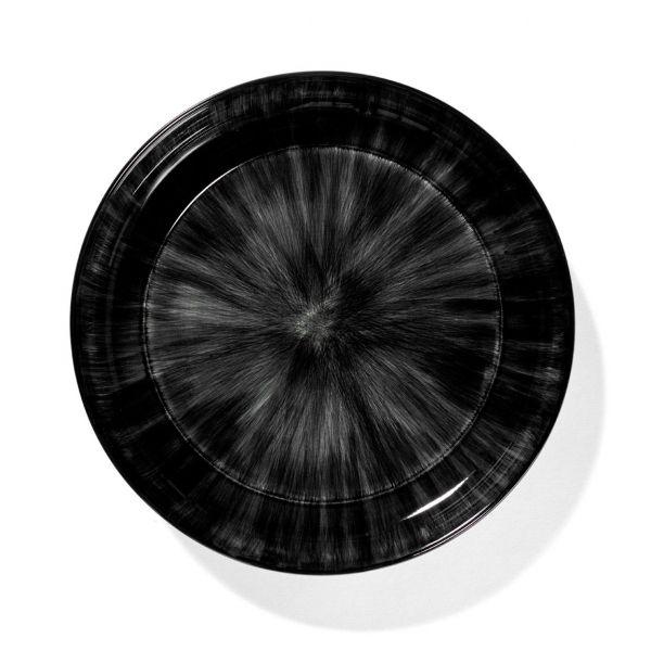 ANN DEMEULEMEESTER - HIGH PLATE DÉ OFF-WHITE/BLACK VAR C 24