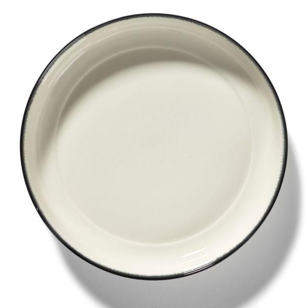 ANN DEMEULEMEESTER - HIGH PLATE DÉ OFF-WHITE/BLACK VAR A 27