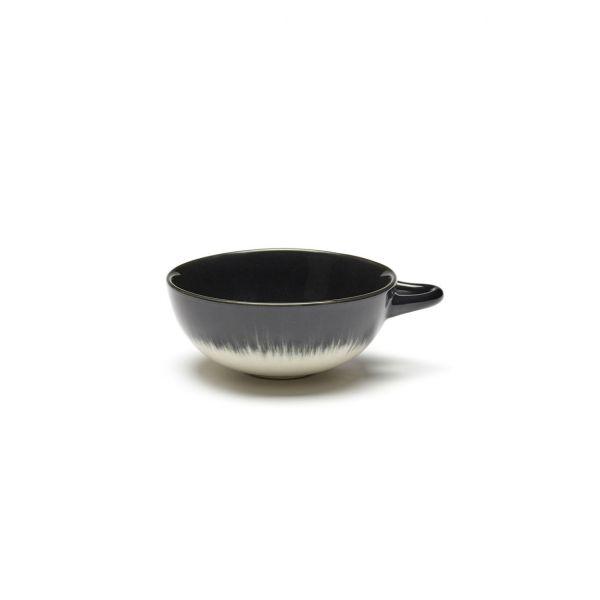 ANN DEMEULEMEESTER - ESPRESSO CUP DÉ OFF-WHITE/BLACK VAR B