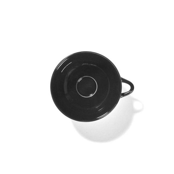 ANN DEMEULEMEESTER - CUP DÉ OFF-WHITE/BLACK VAR B