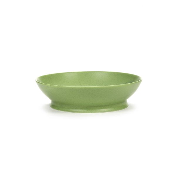 RA BOWL 19 GREEN BOX OF 2 by ANN DEMEULEMEESTER