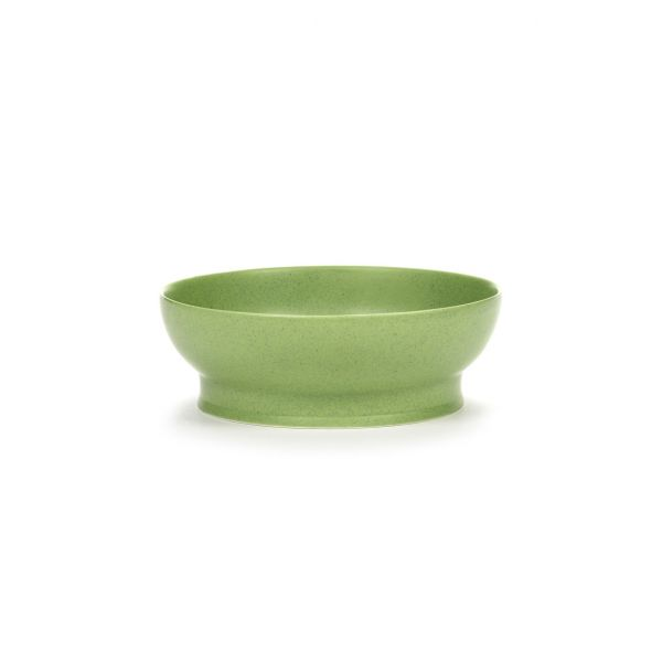 RA BOWL 16 GREEN BOX OF 2 by ANN DEMEULEMEESTER