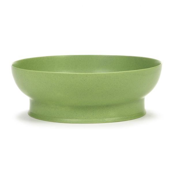RA BOWL 28 GREEN BOX OF 2 by ANN DEMEULEMEESTER