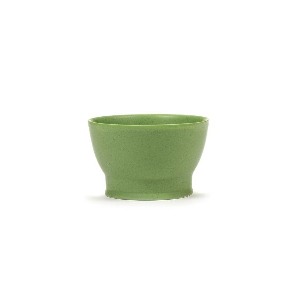 RA CUP W/O HANDLE GREEN BOX OF 2 by ANN DEMEULEMEESTER