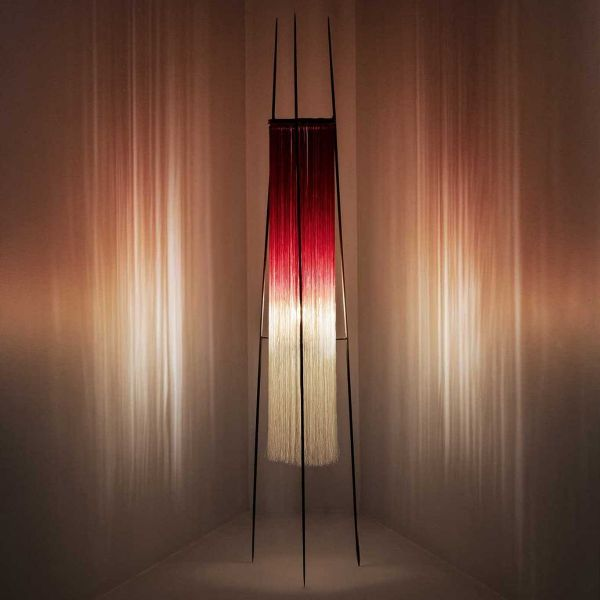 TABLE LAMP KIKI SCARLET CREAM by ANN DEMEULEMEESTER - SERAX