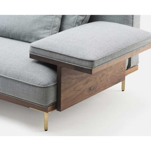 BELLE REEVE MODULAR SOFA by LUCA NICHETTO for De La Espada