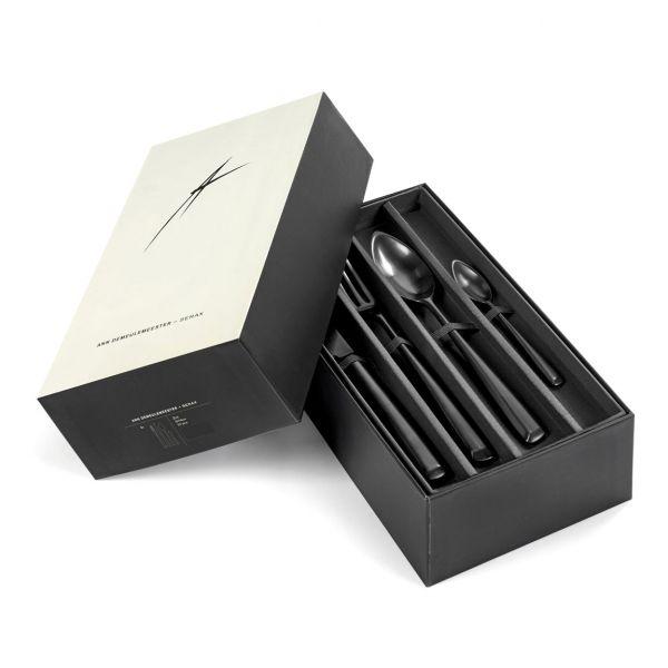 Ann Demeulemeester GIFTBOX Cutlery Set ZOE BLACK