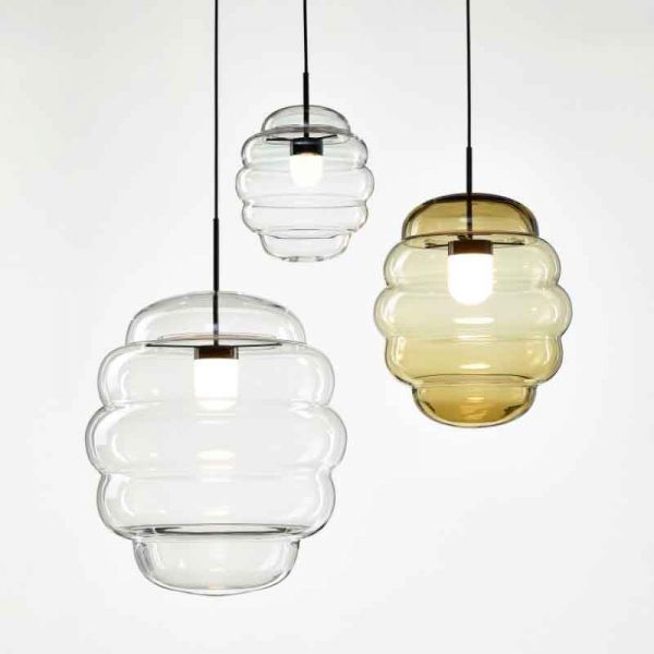 BLIMP PENDANT LIGHT by BOMMA - Mouth Blown Glass