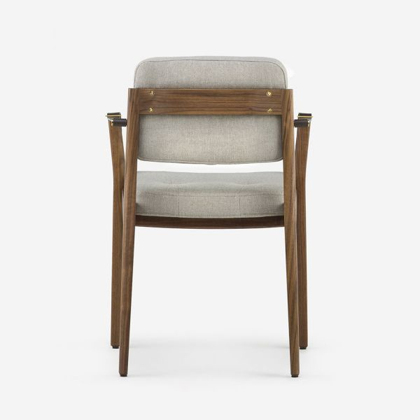 CAPO DINING ARM CHAIR by Neri & Hu for De La Espada