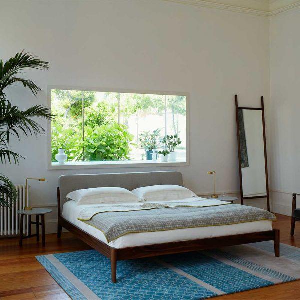 CAPO BED and extend mirror by NERI & HU for De La Espada
