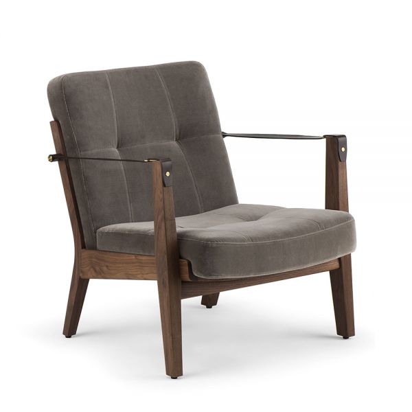 CAPO LOUNGE ARM CHAIR by NERI & HU for De La Espada.
