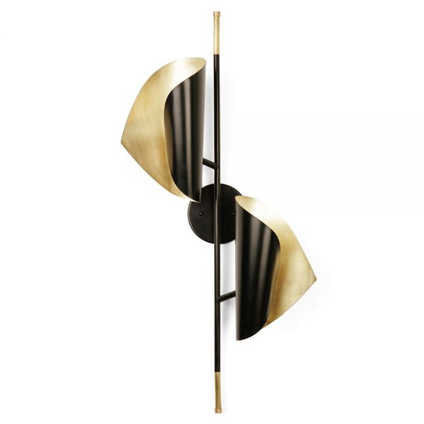 CIGALE DOUBLE SCONCE WALL LIGHT by ATELIER DE TROUPE