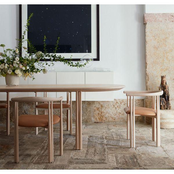 ELLIOT DINING TABLE by JASON MILLER for De La Espada