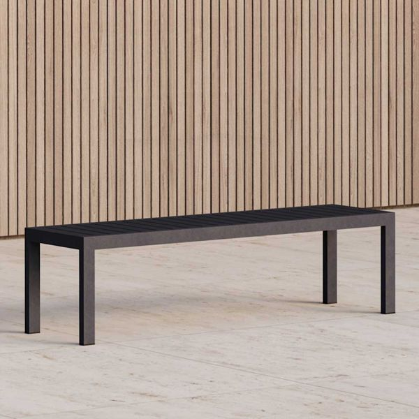 EOS OUTDOOR BENCH by CASE FURNITURE