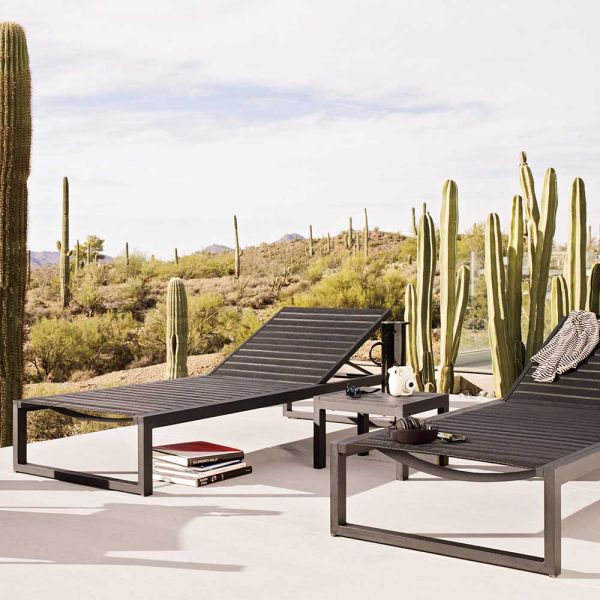 EOS OUTDOOR SIDE TABLE by CASE FURNITURE