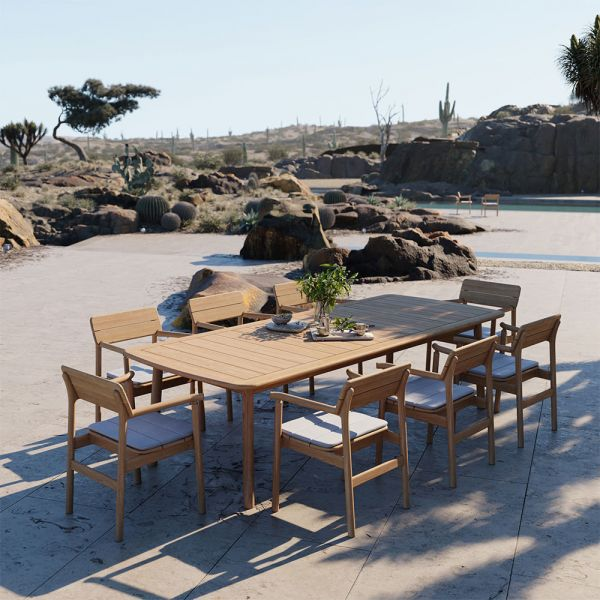 TANSO RECTANGULAR OUTDOOR TABLE By CASE FURNITURE