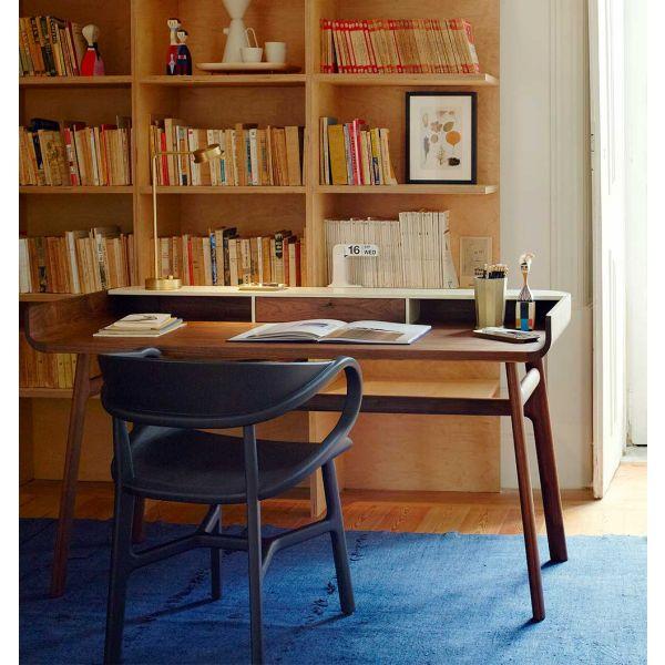 107 VIVIEN DINING CHAIR and Harold Desk by LUCA NICHETTO for De La Espada