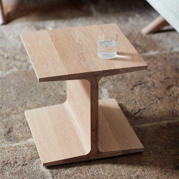 I-BEAM SIDE TABLE by MATTHEW HILTON for De La Espada