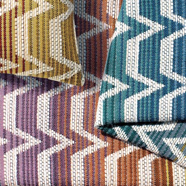 SOCRATE 100 THROW AND CUSHION by MISSONI HOME