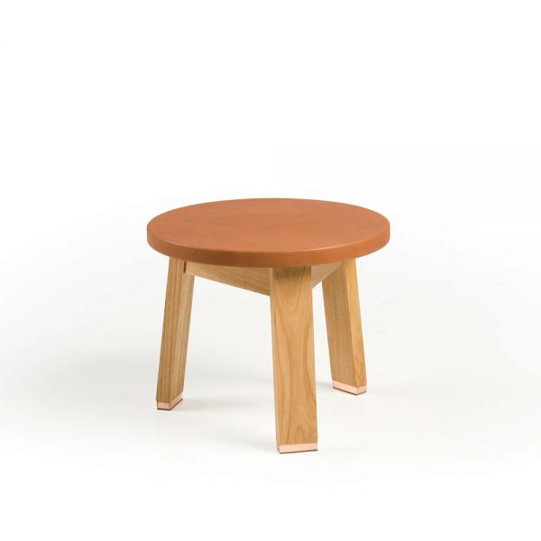 Low Stool Designed by Studioilse for De La Espada.
