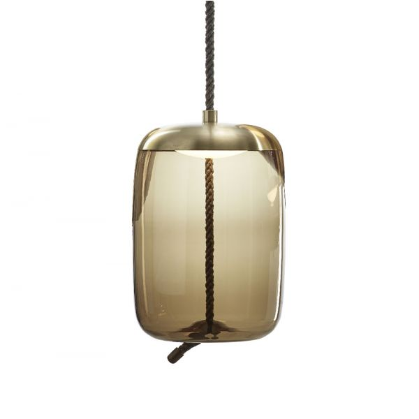 KNOT CILINDRO PENDANT LIGHT by BROKIS