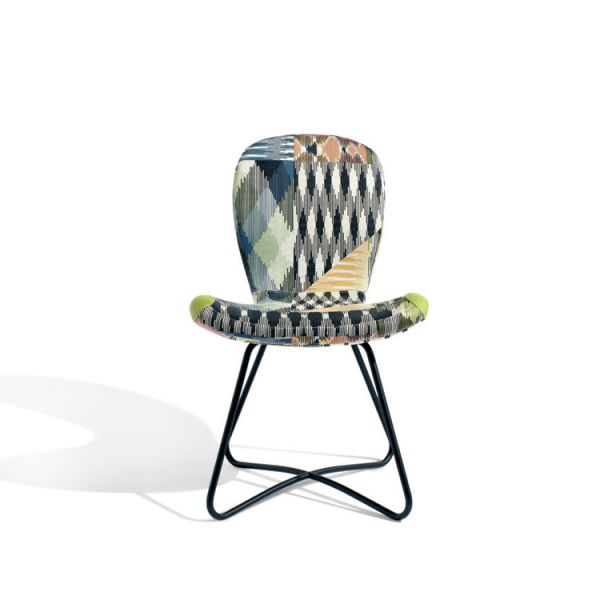 ARTIFORT PATCH ONE CHAIR METAL BASE