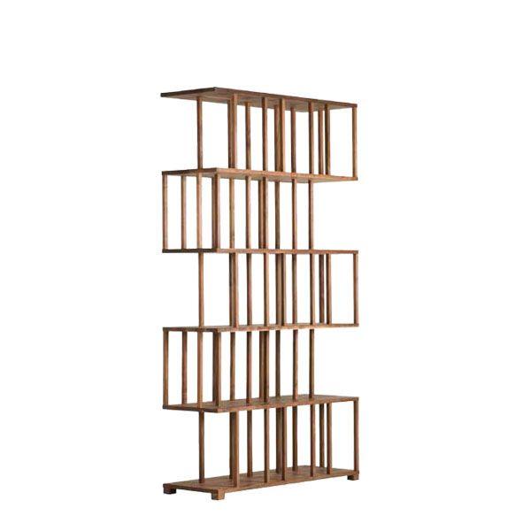 REEDY Solid timber BOOKCASE by AUTOBAN for De La Espada