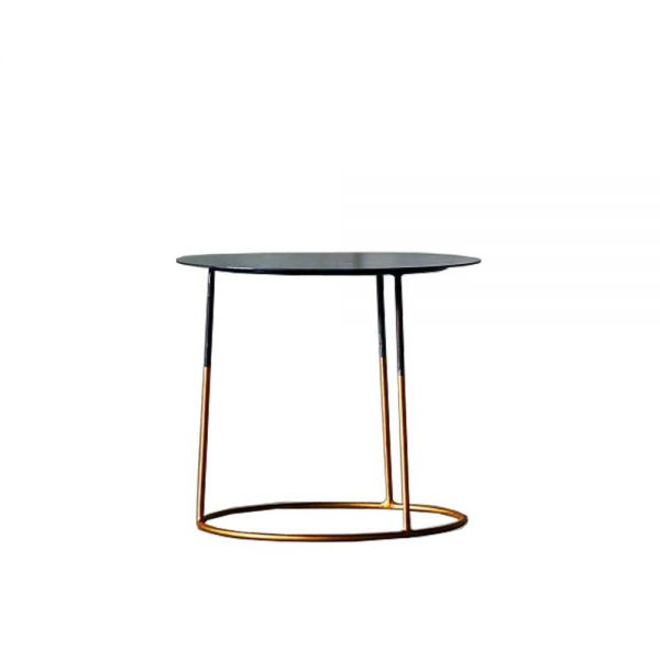 NIMBUS 40 GOLD SIDE TABLE