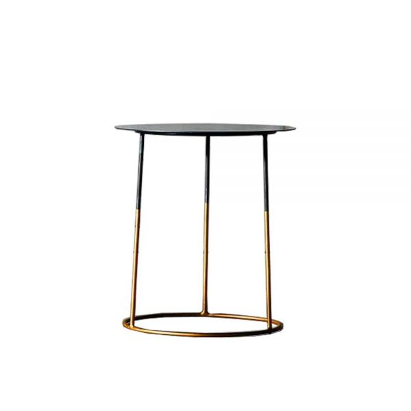 NIMBUS 50 GOLD SIDE TABLE by HEERENHUIS