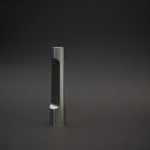 INDUSTRY SMALL STAINLESS STEEL CANDLE HOLDER BY MATTHEW HILTON