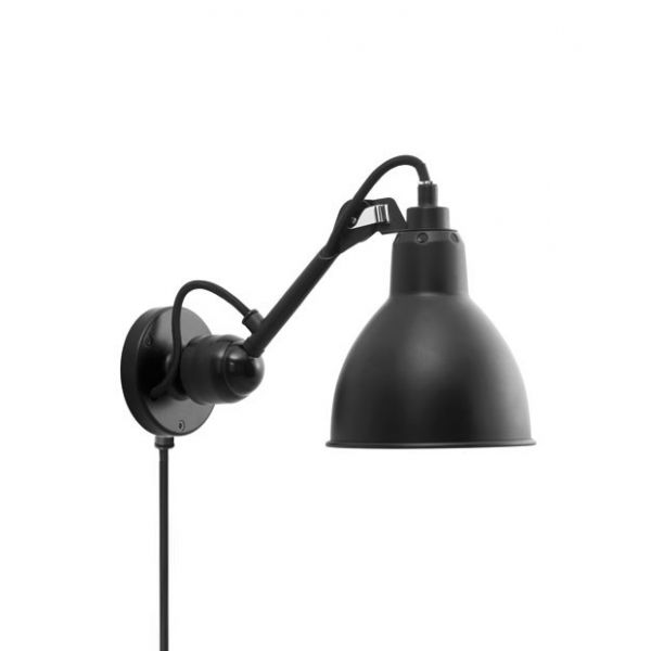 GRAS 304CA WALL LAMP BLACK BY DCW EDITIONS