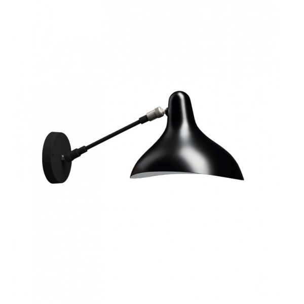 MANTIS SCONCE WALL LAMP BLACK by DCW Editions Paris