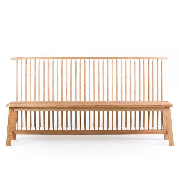 Bench with Back by Studioilse for De La Espada